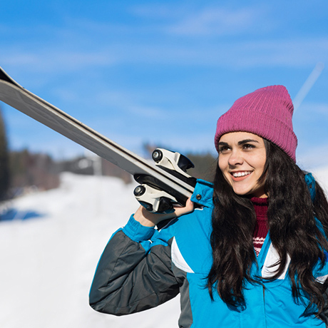 Going Skiing This Winter? Here's How to Protect Your Skin