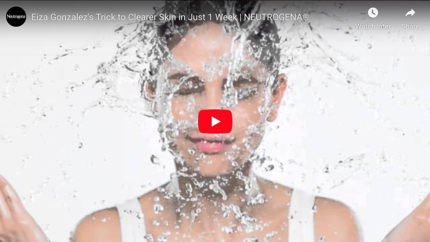 Eiza Gonzalez's Trick to Clearer Skin in Just 1 Week | NEUTROGENA®