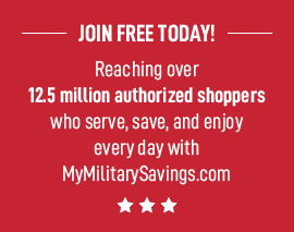 Become a My Military Savings Member!